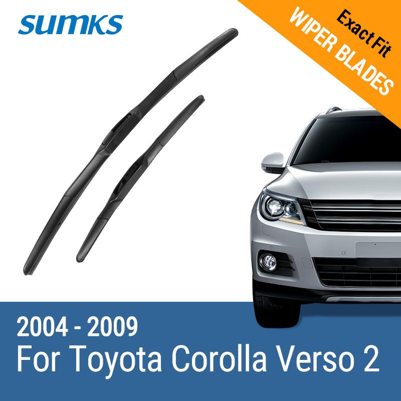 SUMKS 2004-2009 Передний стеклоочиститель yaopei new for toyota corolla 2006 2007 2008 2009 2010 right side headlight washer lift cylinder spray nozzle 85207 02040