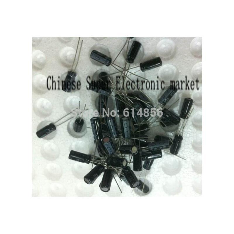 IC free shipping aluminum electrolytic capacitor 220uf 35v volume 8x12 100pcs lot