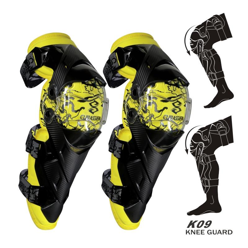 cuirassier K09 Желтый Свободный размер защитные колпаки для мотоциклов kneepad protective kneepad protector mx off road