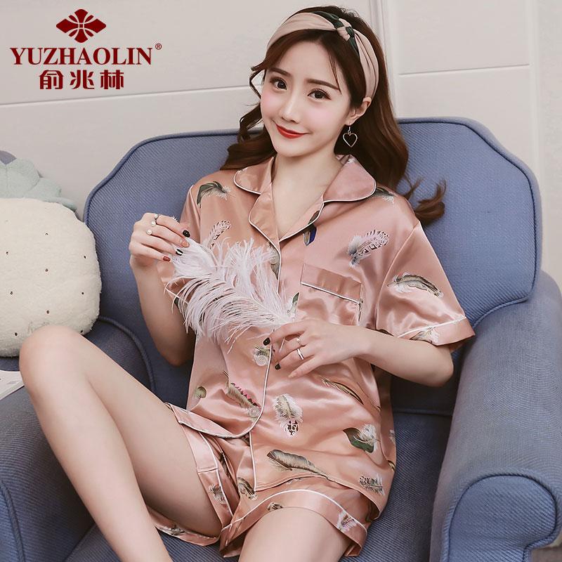 JD Коллекция лист XL пижамы пижамы пижамы пижамы женские пижамы женская пижама женская пижама женская b541102112 5