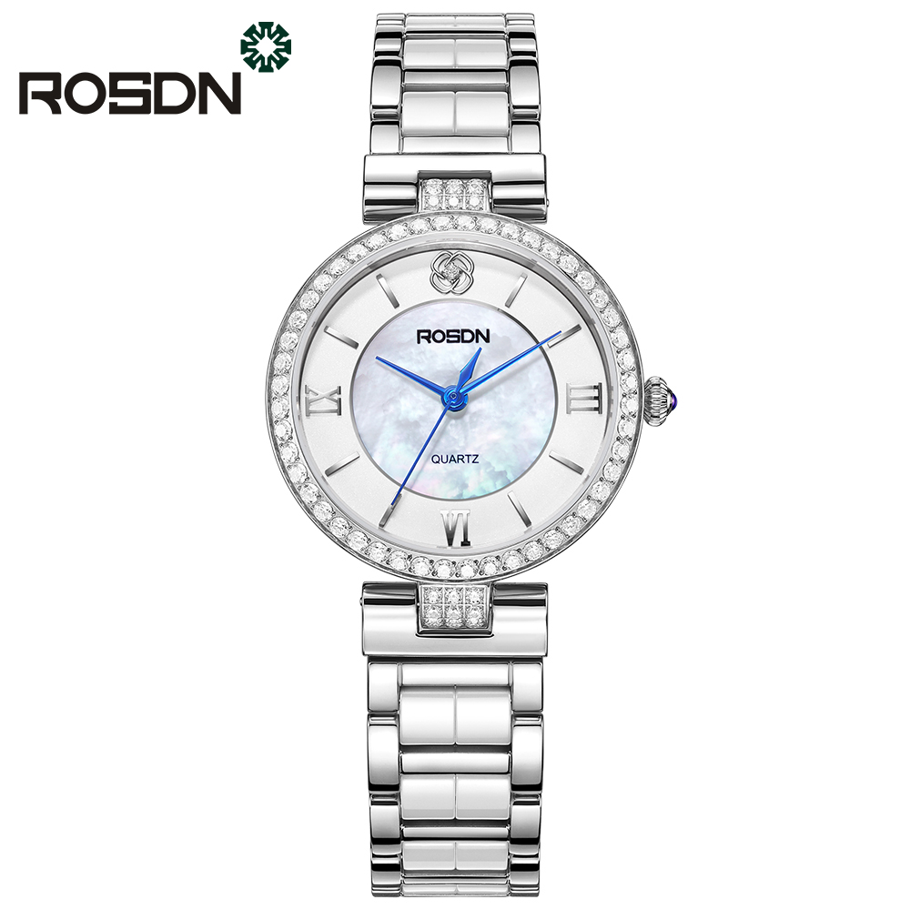 ROSDN White 2017 мода yazole часы женские наручные часы женские наручные часы женские уникальные часы элегантные кварцевые часы