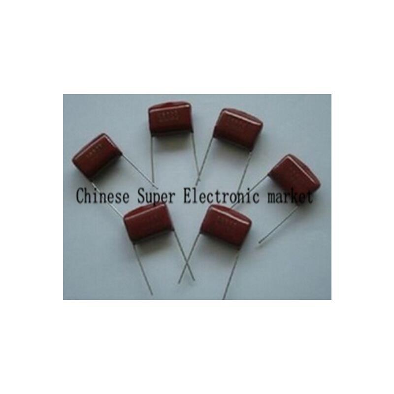 IC 10pcs lot 400v105j 1uf 20mm 400v 105 1000nf cbb polypropylene film capacitor new original free shipping