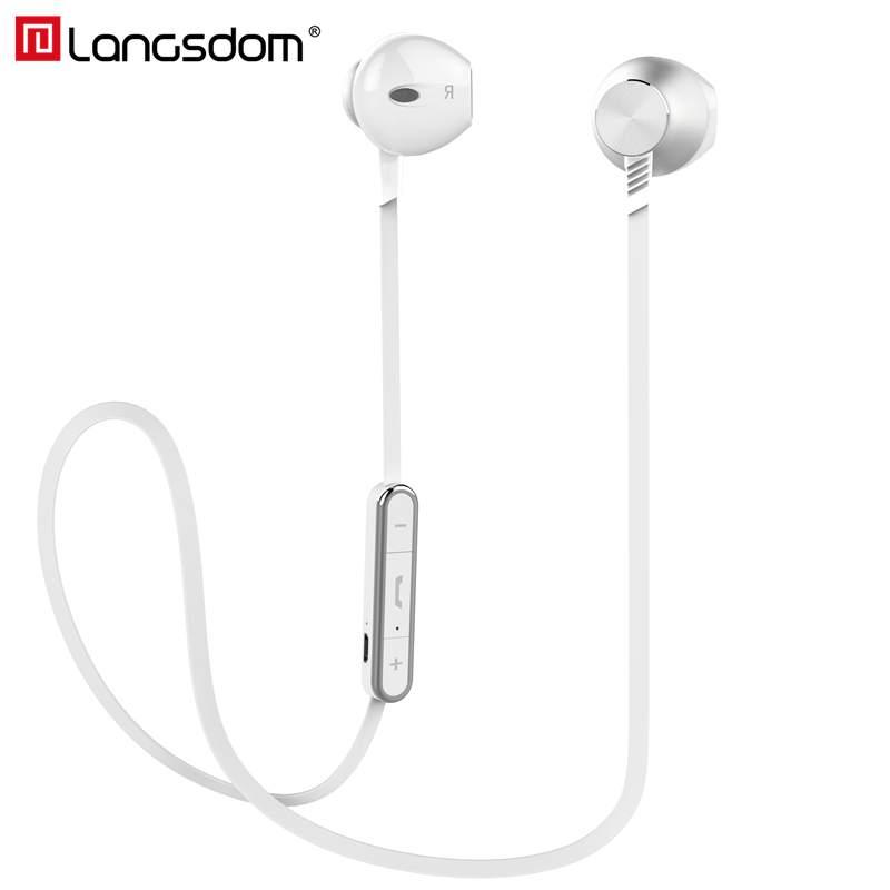 langsdom Белый Наушники Bluetooth