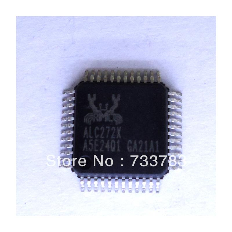 IC 5pcs lot realtek alc269 6mm 6mm high definition audio codec with embedded class d speaker amplifier