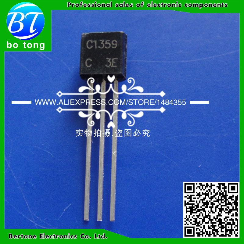 IC free shipping 200pcs lot 2sc1359 c1359 to 92 transistor