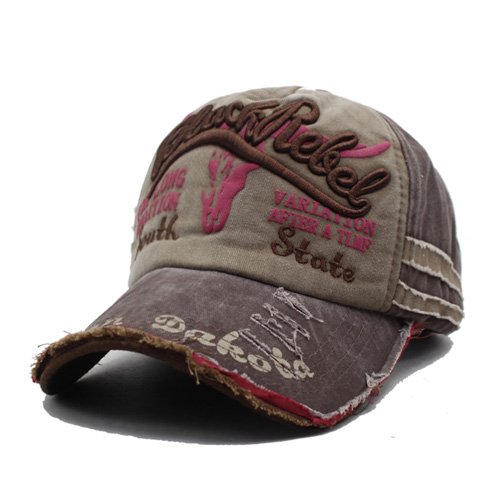 Sisjuly Красно-бурый стандартный baseball cap men women snapback caps brand homme hats for women falt bone jeans denim blank gorras casquette plain 2018 cap hat