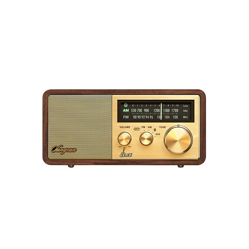 JD Коллекция сша golden years tivoli audio m1bt классических черное дерево silver радио bluetooth динамик настольный настольный hifi динамик