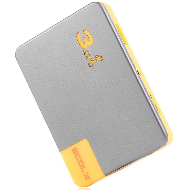 ECOLA Тонкий ультра-высокой скорости с адаптером питания желтый USB 30 хаб joycollection