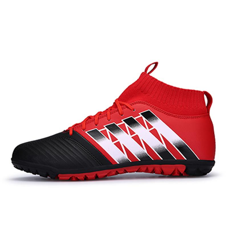 Sisjuly красный 41 tiebao c13135c professional men indoor football boots turf athletic racing soccer boots training football shoes