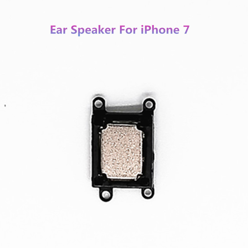 jskei Наушники для iPhone 7 genuine original new earpiece ear speaker repair replacement flex cable for iphone 6 6p 6s 6splus high quality free shipping