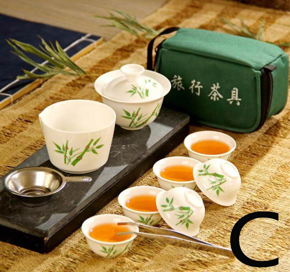 FullChea С Чайный набор алкоголь горелки с металлической подставкой для чайной церемонии чайника warmer