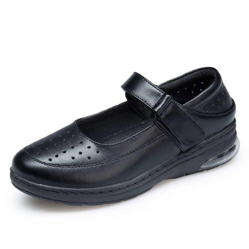 WOBAILE Белый 5 сестра туфли туфли xiaobai противоскользящий мягкий дно белый спецобуви пар обуви одной маме туфли