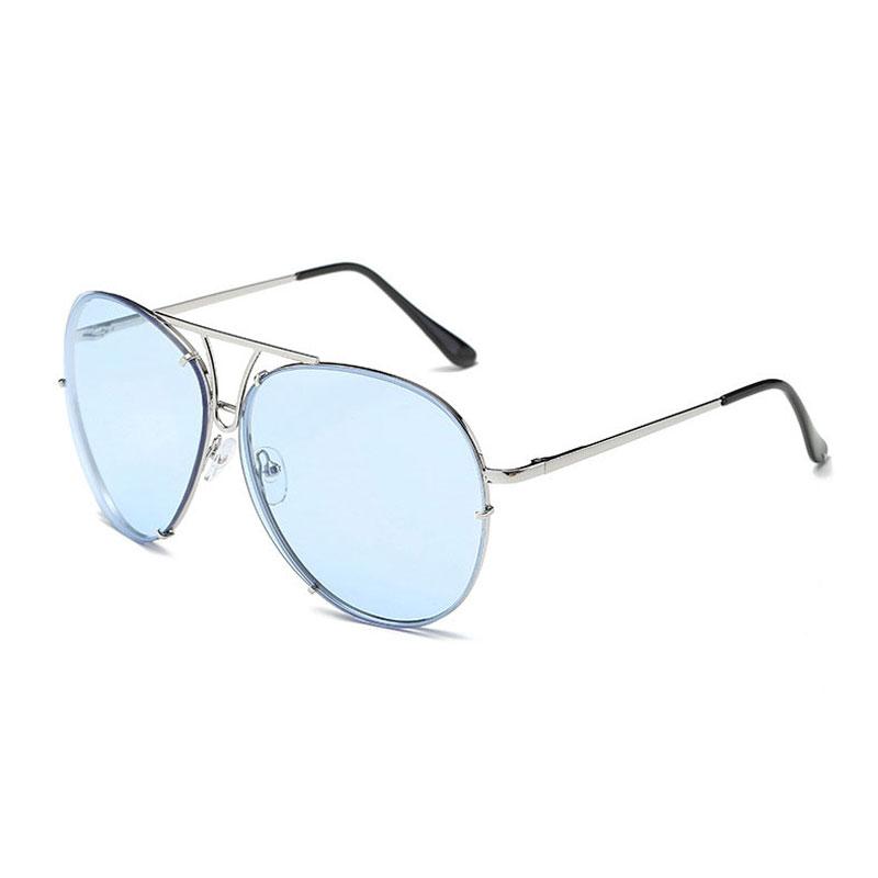 LIKEU S NO4 Silver & Blue oreka 3025 uv400 protection night vision polarized driving glasses silver yellow