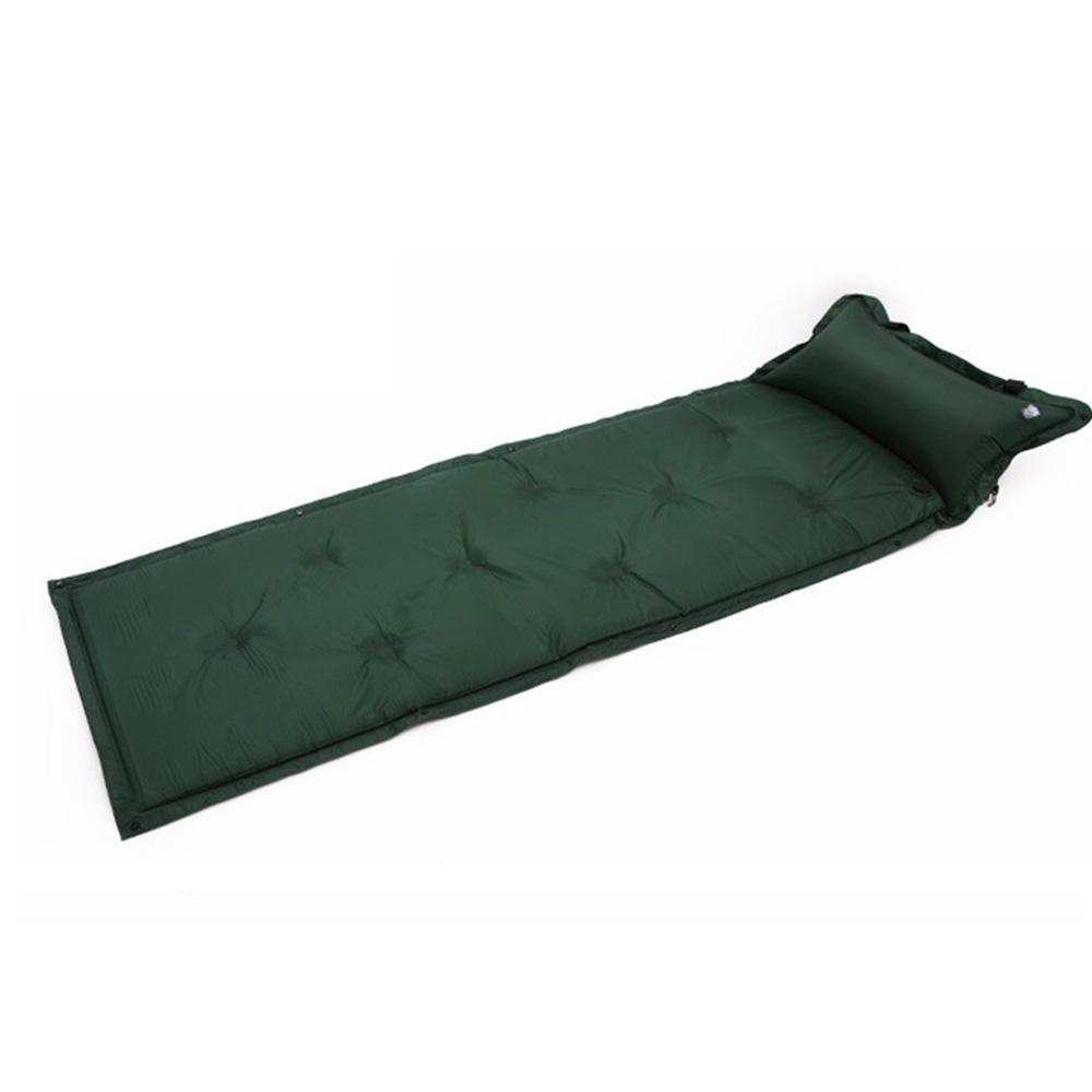 GAZELLE OUTDOORS Зелёный цвет durable thicken pvc car travel inflatable bed automotive air mattress camping mat with air pump