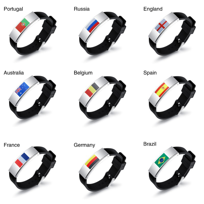 Colorful panda Бельгия u7 широкий браслет часов реального позолоченные моды мужчин украшения оптовой новой модной уникальный 1 5 см 20 см звено цепи браслеты
