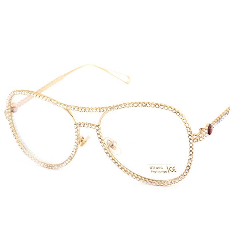 Sisjuly Золото Классические очки оптика leapers