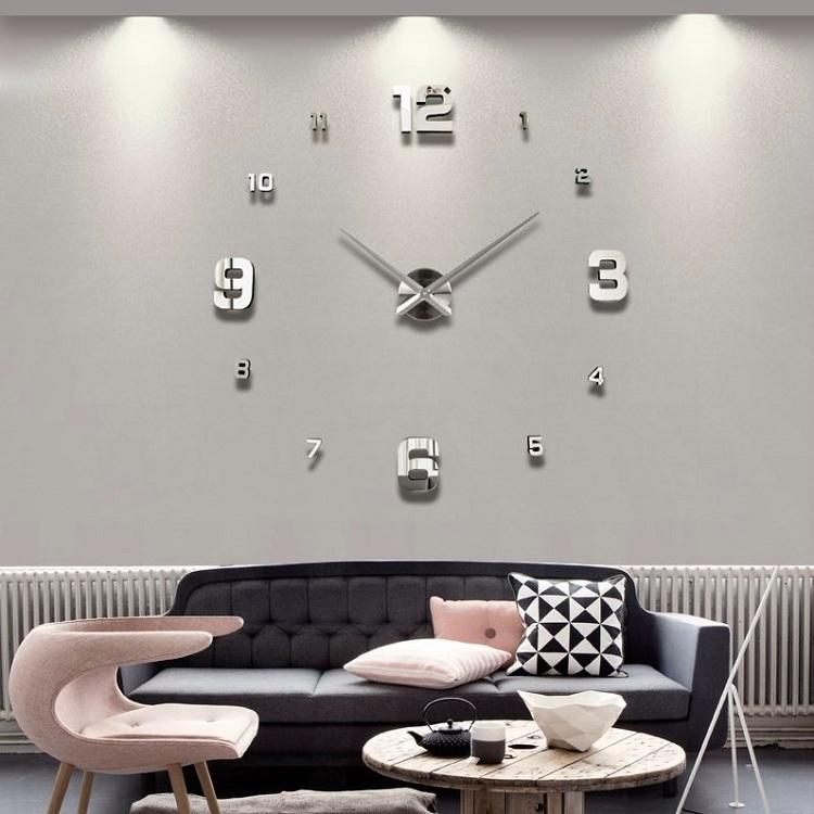 suwumu Серебристый цвет часы настенные proffi home корица