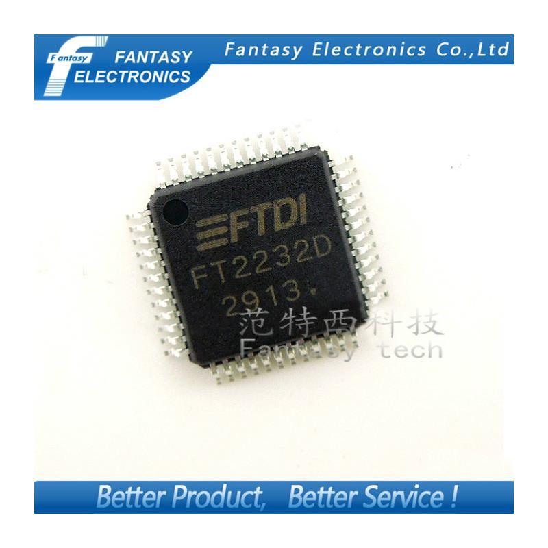 IC free shipping 10pcs ft2232d