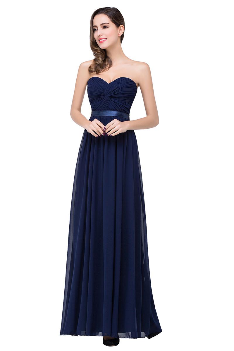 Платье вечернее вечернее вечернее вечернее платье A-Line babyonlinedress Темно-синий США 2 Великобритания 6 ЕС 32 фото