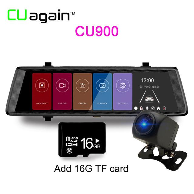 Автомобильный видеорегистратор CU900 16G 1080p замок trelock ks 110 10mm x 100cm 8002072