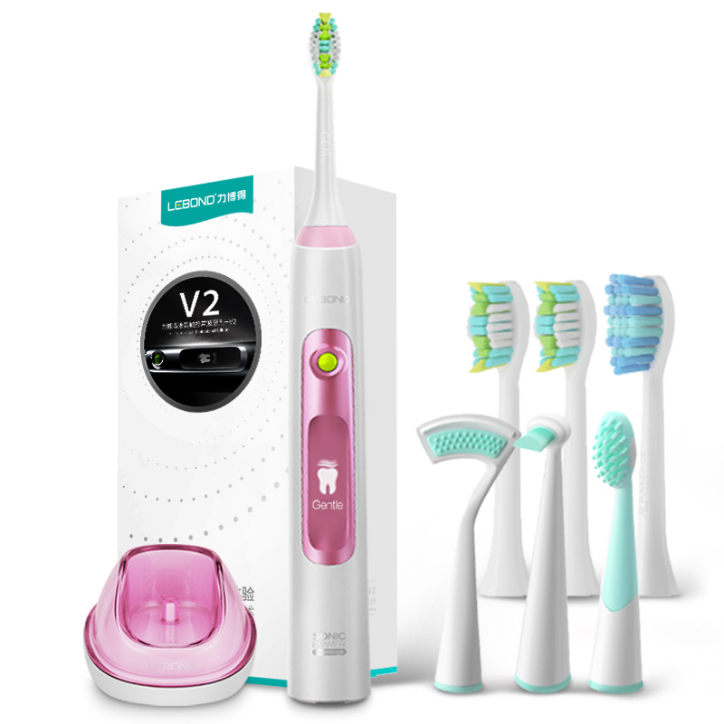 JD Коллекция Розовый lebond sonic electric toothbrush heads handy series 4 pcs for all lebond adult toothbrushes