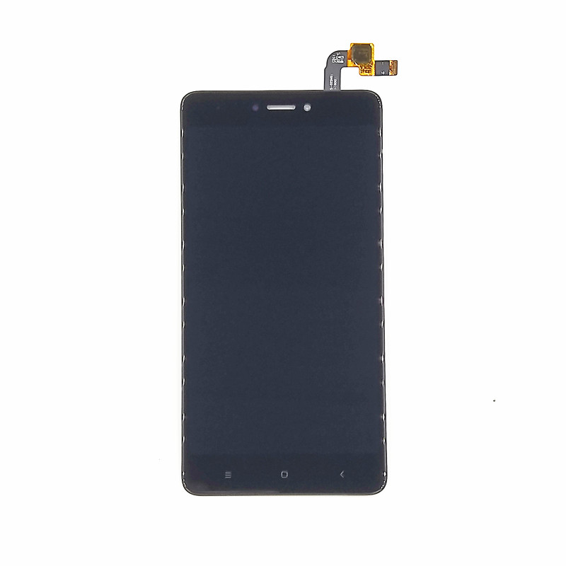 jskei Черный lcd screen display touch digitizer with frame for 5 5 xiaomi redmi note 2 hongmi note 2 black free shipping