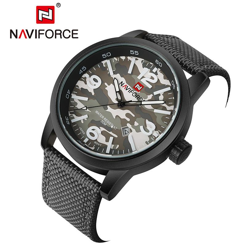 NAVIFORCE черный naviforce relogio 9028w