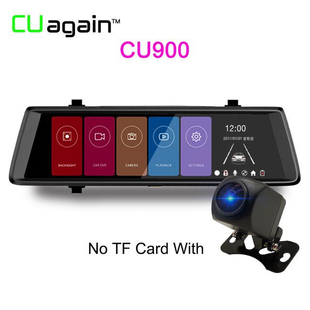 Автомобильный видеорегистратор CU900 1080p relaxgo 5 android touch car dvr gps navigation rearview mirror car camera dual lens wifi dash cam full hd 1080p video recorder