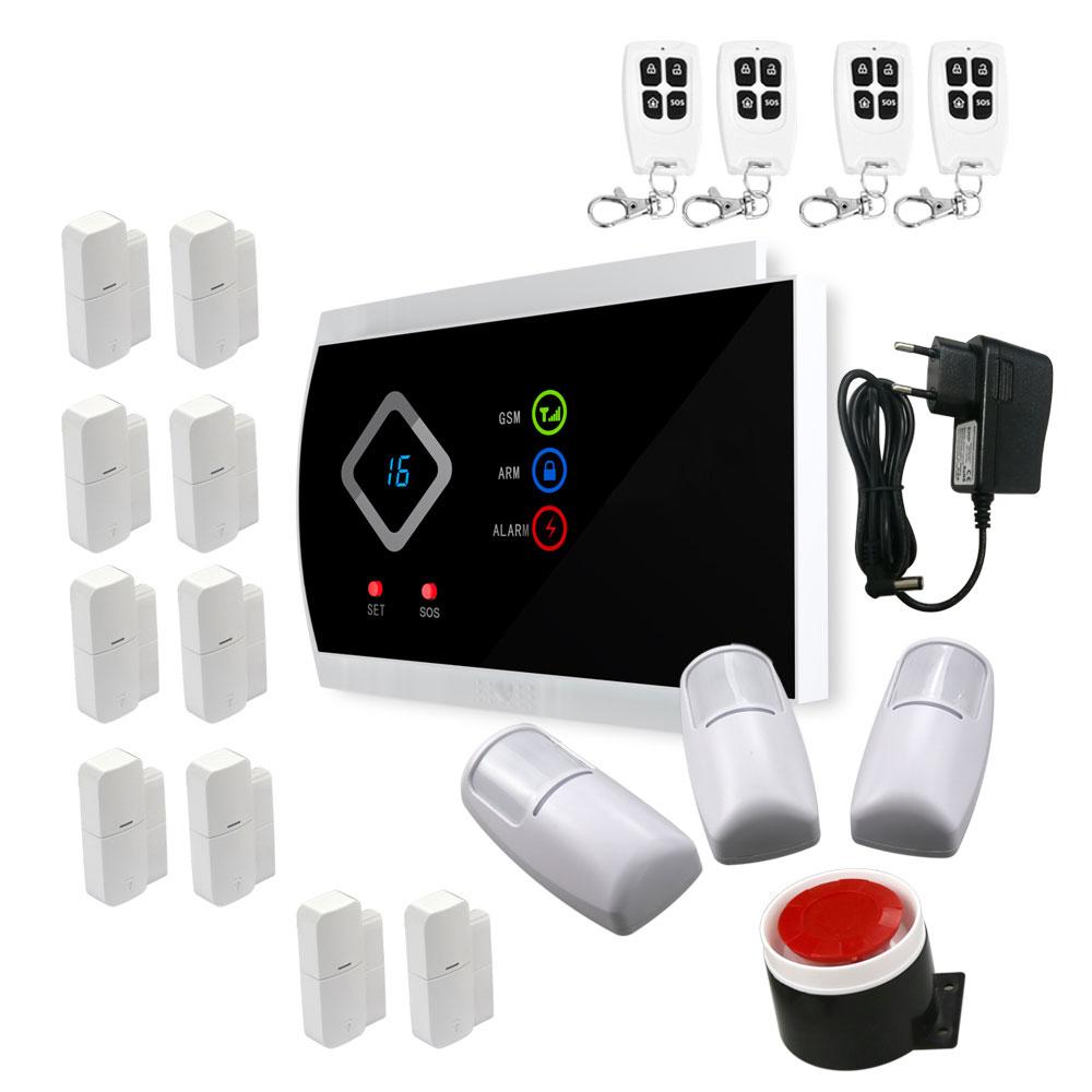 DYGSM Alarm System new safurance 200w 12v loud speaker car horn siren warning alarm stainless steel home security safety