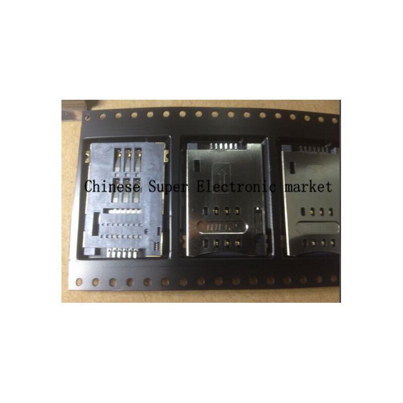 IC 30pcs molex 4 in 1 38pins sd card holder tray push push connector self push type