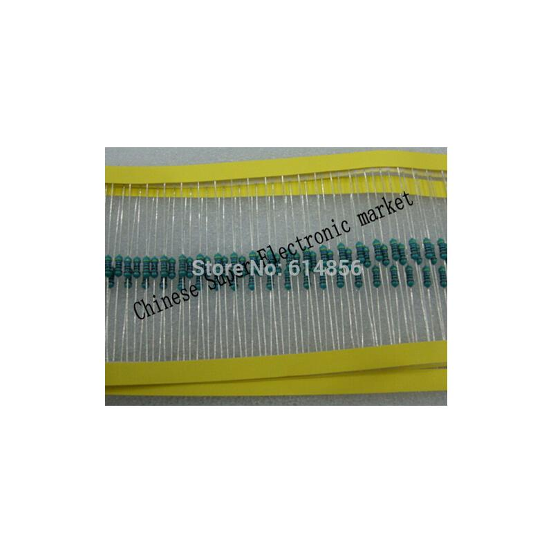IC metal film resistors 1 2w 2 7 ohm 1% accuracy x 500