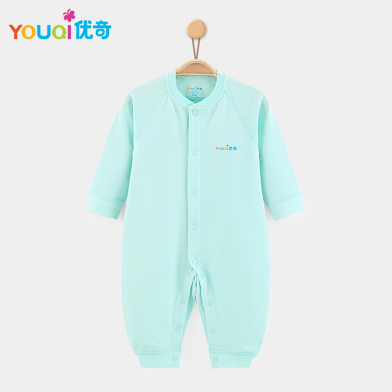 Зелёный цвет 1-3 Months newborn baby boy girl infant warm cotton outfit jumpsuit romper bodysuit clothes