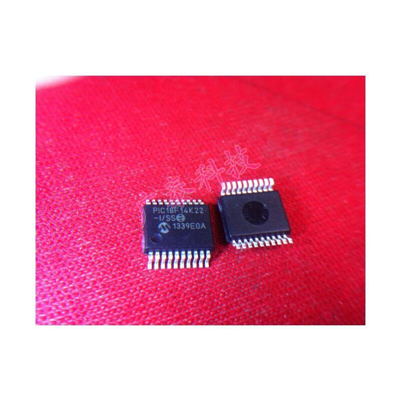 IC 10pcs lot pic18f14k22 i ss pic18f14k22 ssop20 new