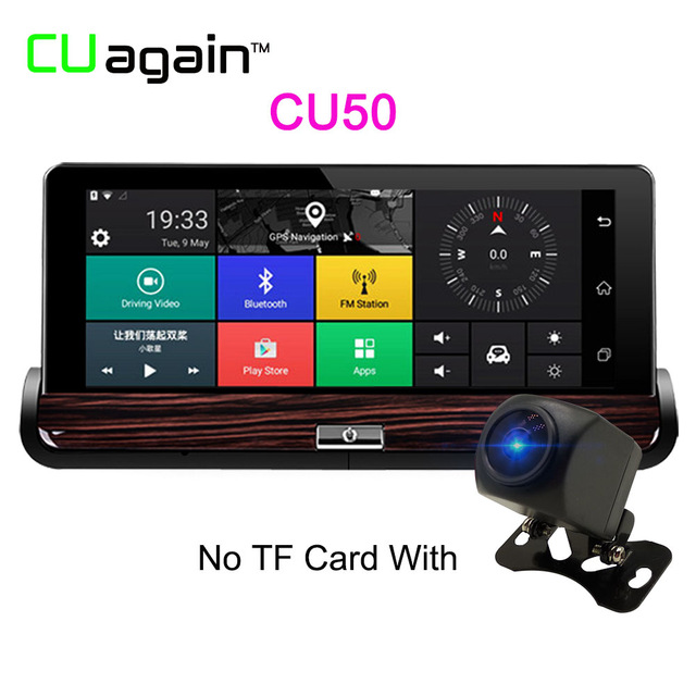 CU50 1080p mini 0906 car dual lens dvr 1080p fhd dash cam