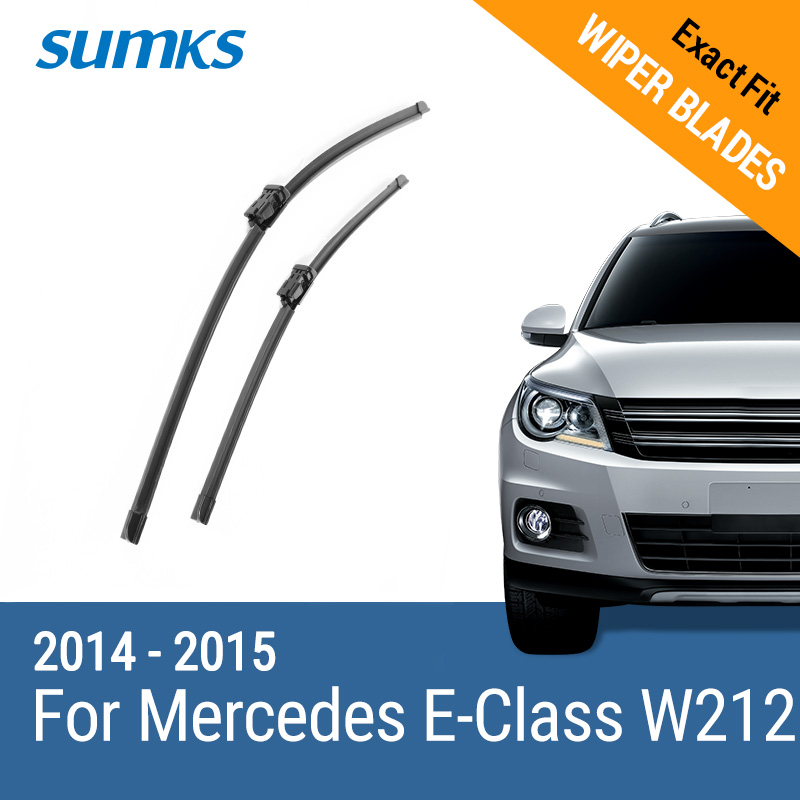 SUMKS 2014-2015 Передний и задний стеклоочиститель wiper blades for mercedes benz ml class w166 26