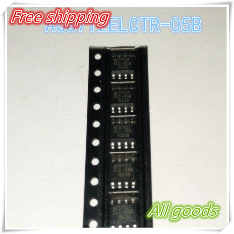 IC free shipping 500pcs lot acs712 20a acs712 712 allegro acs712elctr 20a t sop 8 100%new