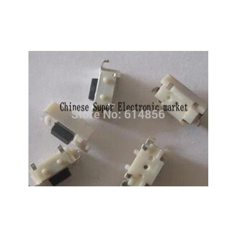 IC 10pcs white square cap momentary tactile tact push button switch 12 x 12mm x 7 3mm