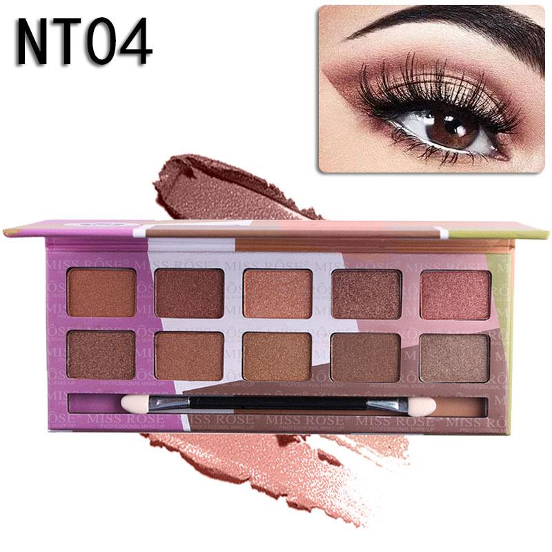 MISS ROSE Синий цвет miss rose professional mult color make up palette set hot flower makeup collection 7002 150y