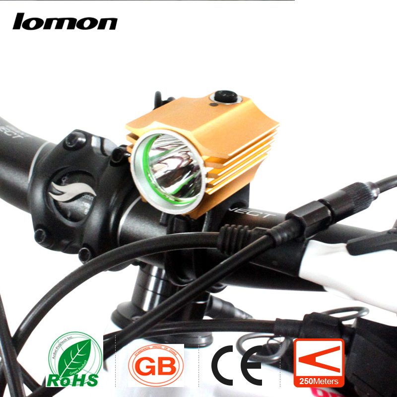 lomon золотистый newboler 7000lumen xm l t6 led bike light usb bicycle lights rechargeable lamp torch flashlight cycling accessories