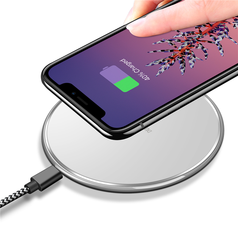 GANGXUN White universal qi wireless charger for cellphone white