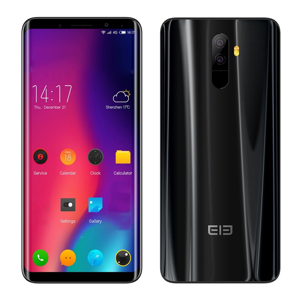 Elephone Черный смартфон elephone s7 4g