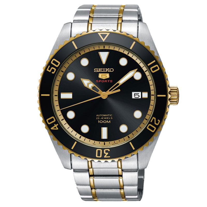 JD Коллекция черный дефолт мужские часы seiko ssa341j1