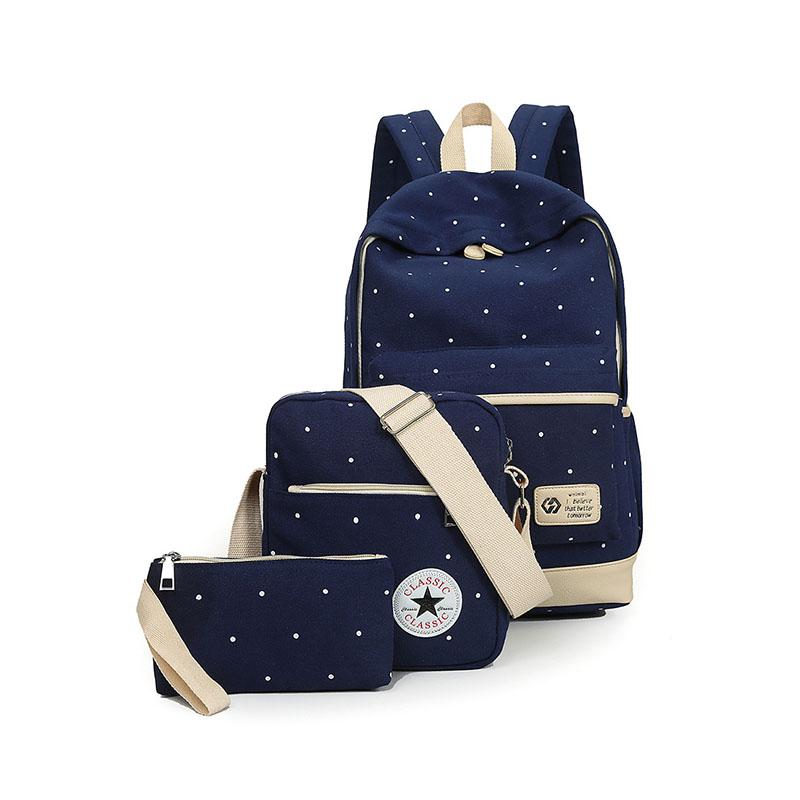 Leaderpal Синий цвет M рюкзак женский