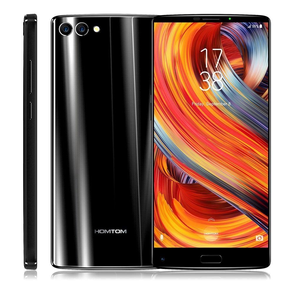 HOMTOM Черный Евровилка zte axon 7 mini 4g smartphone