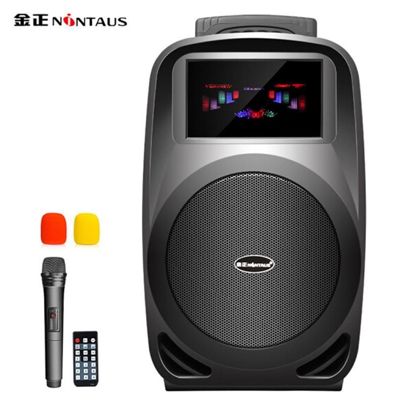 JD Коллекция Default дефолт soaiy saaiy sa t18 портативный мобильный стержень для наружного аудио высокой мощности с квадратным танцем с беспроводным микрофонным усилителем