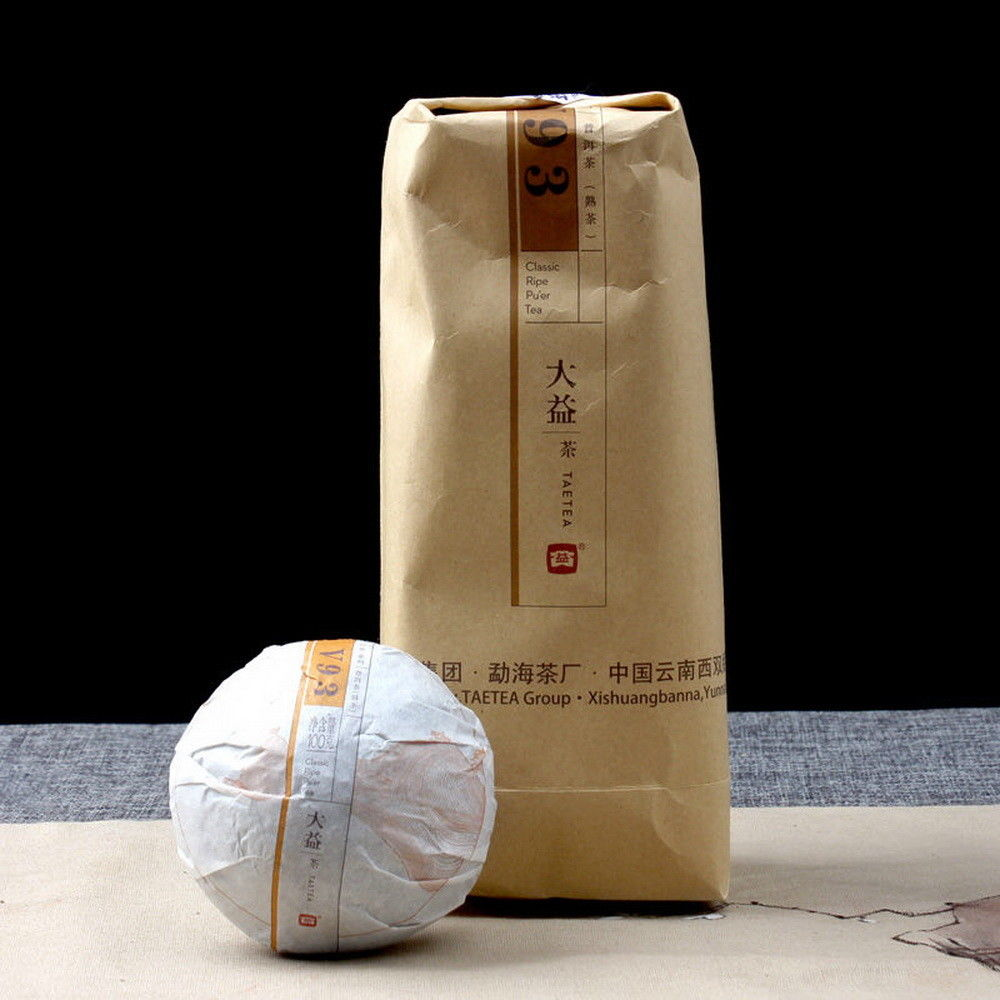 100g 2009 menghai da yi taetea 901 bowl raw tuo puer pu er puerh tea 100g raw uncooked sheng dayi tea factory freeshipping food