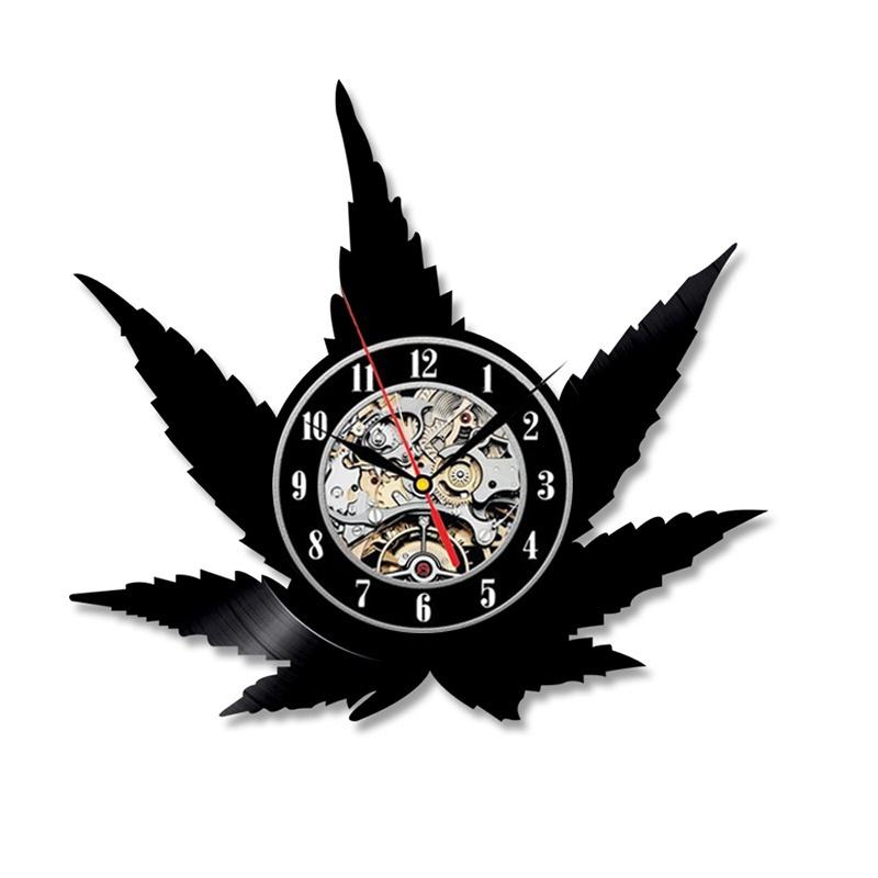 Часы стены BOGAO черный фото