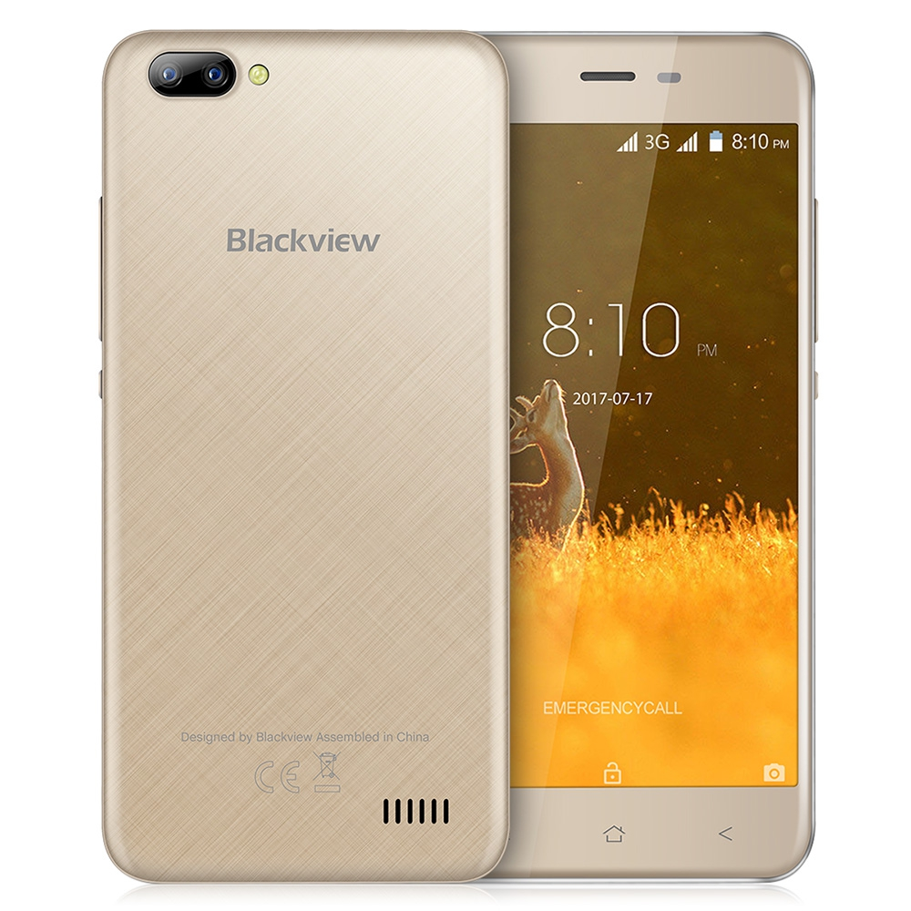Blackview Золотой цвет Евровилка blackview a8 смартфон