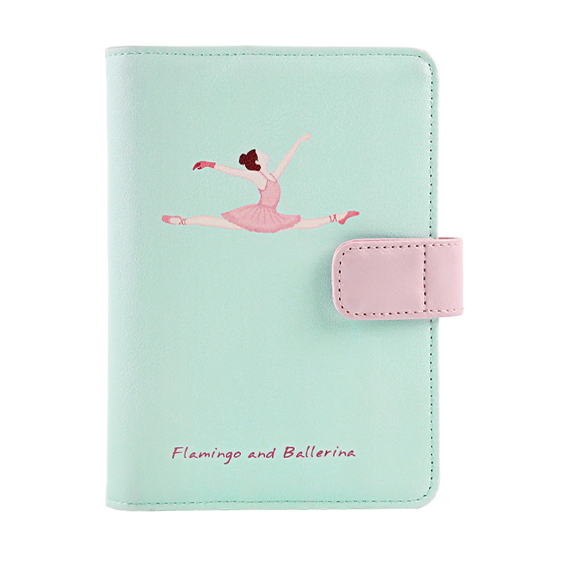 JD Коллекция A6- Flamingo дефолт обширный guangbo 16k96 чжан бизнес кожаного ноутбук ноутбук канцелярского ноутбук атмосферный магнитные дебетовые коричневый gbp16734