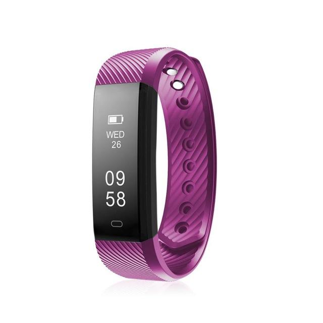 9Tong Фиолетовый цвет Смарт-браслет смарт браслет nike fuelband se